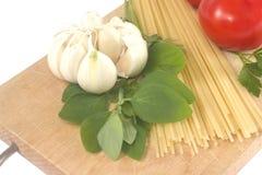 Preparação do espaguete Fotografia de Stock Royalty Free