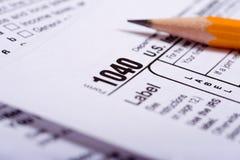 Preparação do imposto imagens de stock royalty free