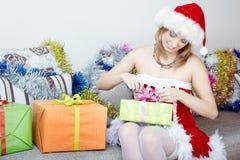 Preparação do Natal imagem de stock
