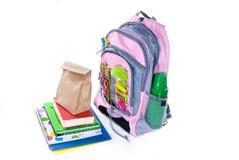 Preparação para a escola Imagem de Stock Royalty Free