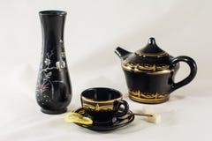 Preparação para o chá Imagens de Stock Royalty Free