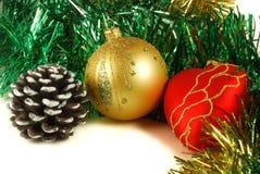 Preparação para o Natal, decorações imagens de stock