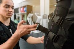 Preparação para o treinamento do EMS foto de stock royalty free