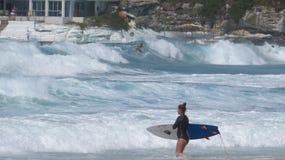Preparação surfar em Bondi fotos de stock