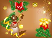 preparações de Novo-ano Imagens de Stock