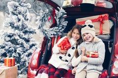 Preparações do Natal Foto de Stock