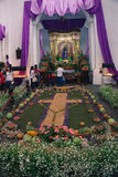 Preparações e decorações elaboradas para Lent Foto de Stock Royalty Free