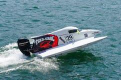 Preparações loucas-Croc do barco de Baba Racing Team Fotografia de Stock