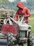 Prepara i trattori Fotografie Stock