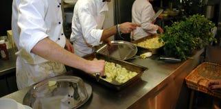 Preparación 2 del alimento Foto de archivo