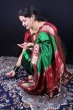 Preparación de Diwali Imagen de archivo