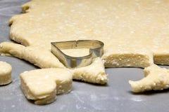 Preparación de galletas Foto de archivo libre de regalías