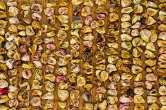 Preparación de higos secados Imagen de archivo