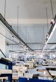 Preparación de la cadena de la producción industrial Foto de archivo libre de regalías
