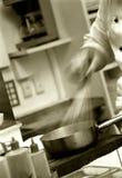 Preparación de la cocina Imágenes de archivo libres de regalías