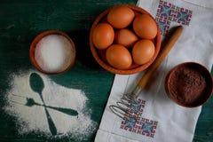 Preparación de la comida Fotos de archivo libres de regalías