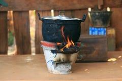 preparación de la comida local Foto de archivo libre de regalías
