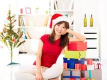 Preparación de la Navidad Fotografía de archivo