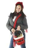 Preparación de la Navidad del tween Imagen de archivo libre de regalías