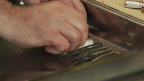 Preparación de las sardinas