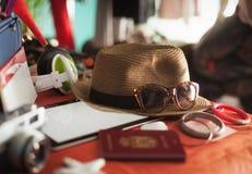 Preparación de las vacaciones de verano Imagen de archivo libre de regalías