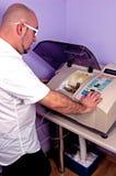 Preparación de vidrios Imagen de archivo libre de regalías