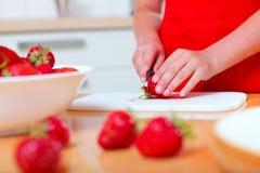 Preparación del alimento Fotografía de archivo libre de regalías