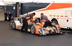 Preparación del coche de carreras Fotos de archivo libres de regalías