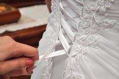 Preparación del día de boda Fotografía de archivo libre de regalías