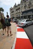 Preparación magnífica 2011 de la pista de Prix F1 Imagen de archivo