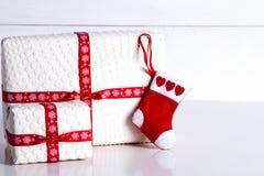 Preparación para el Año Nuevo y la Navidad Imágenes de archivo libres de regalías