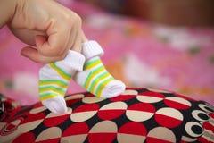 Preparación para el bebé Imagen de archivo libre de regalías
