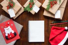 Preparación para el concepto de los días de fiesta del Año Nuevo Fotos de archivo libres de regalías