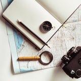 Preparación para el recorrido Imagen de archivo libre de regalías