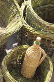 Preparación para la cosecha de la uva Imágenes de archivo libres de regalías