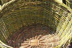 Preparación para la cosecha de la uva Fotografía de archivo