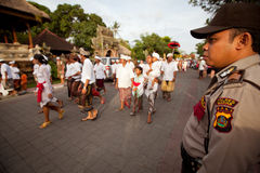 Preparación para Nyepi - Año Nuevo del Balinese Fotos de archivo