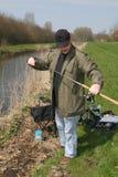 Preparación pescar Imagen de archivo libre de regalías