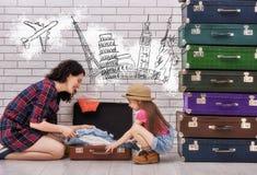 Preparación vacation Imágenes de archivo libres de regalías