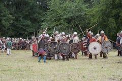 Preparación para la batalla Fotografía de archivo libre de regalías