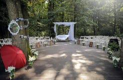 Preparaciones de la boda fotografía de archivo libre de regalías