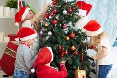 Preparaciones de la Navidad Fotos de archivo libres de regalías