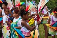 Preparaciones del carnaval Imagen de archivo libre de regalías
