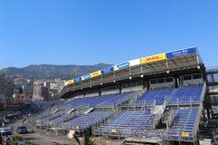 Preparaciones para el Mónaco Grand Prix 2015 Fotos de archivo libres de regalías