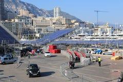 Preparaciones para el Mónaco Grand Prix 2015 Fotografía de archivo