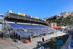 Preparaciones para el Mónaco Grand Prix 2015 Foto de archivo