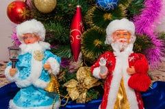 Preparaciones para la Navidad Foto de archivo libre de regalías