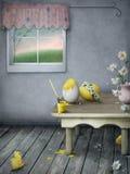 Preparaciones para Pascua Imagen de archivo libre de regalías