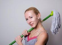 preparando alla pulizia Immagine Stock