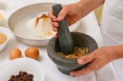 Preparando bolinhos caseiros Fotos de Stock